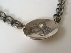 New York Heart Necklace from Souvenir Spoon on by GeorginaBaker, $42.00
