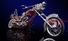 Dragon Themed Item-Motor Bike