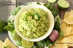 The best Guacamole Recipe you have ever tasted! Also my trick for keeping…