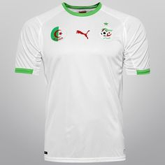 Camisa Puma Seleção Argélia Home 2014