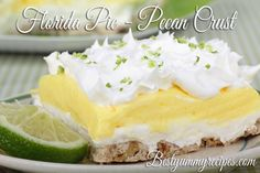 Florida Pie – Pecan Crust