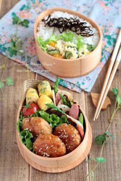 bento lunch- わたしもこんなきれいな弁当がつくれるようになりたい