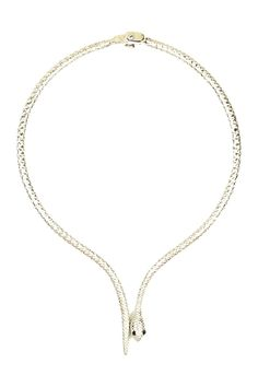 Snake Collar Necklace by Eye Candy Los Angeles on @HauteLook