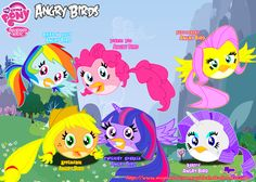 my little pony angry birds - Google Search