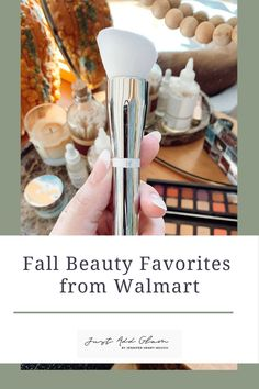 I love that Walmart has curbside pickup and delivery on most items. Rather than venturing in-store yourself or clicking through countless product pages, I have rounded up some of my absolute favorite Walmart beauty products to use this fall! Beauty Hacks, Walmart, Fall, Autumn, At Walmart, Beauty Tricks, Beauty Secrets, Beauty Tips
