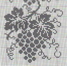 Filet Crochet Charts, Crochet Borders, Crochet Patterns, Cross Stitch Designs, Cross Stitch Patterns, Beaded Hat Bands, Pixel Crochet, Fillet Crochet, Pixel Pattern