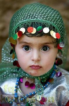 Kurdish child,, beautiful eyes