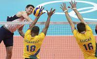 JP no Lance: Jogos Olímpicos : Vôlei Masculino: Em jogo emocioa...