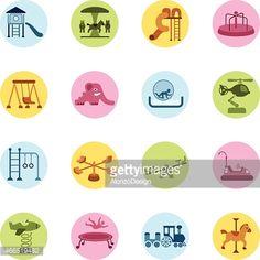 Vector Art : Playground Icons Set