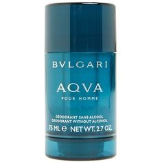 BVLGARI 'AQVA pour Homme' Deodorant Stick ($27) ❤ liked on Polyvore featuring men's fashion, men's grooming and men's deodorant