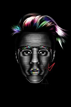 My style of line art - Justin Bieber