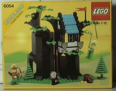 Lego Castle Forestmen& Hideout 6054 Sealed In Box Never Opened vintage Legoland- Model Castle, Classic Lego, Lego Pictures, Lego For Kids, Lego Castle, Vintage Lego, Lego Toys, Lego Building, Legoland