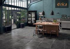 Rivestimenti Dust Black - Provenza Ceramiche by Emilceramica Group #ericacasa #arredamento