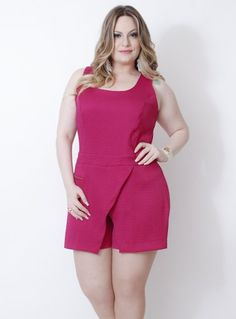 Fashion, for women. Beautiful Outfits, Cool Outfits, Casual Outfits, Fashion Outfits, Plus Size Shorts, Plus Size Outfits, Curvy Fashion, Plus Size Fashion, Plus Size Looks