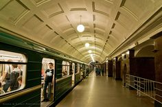 Moscow Metro by N+C Photo, via Flickr