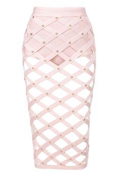 'Montenegro' Cage Bandage Skirt