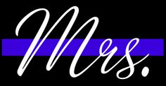 Buy a t-shirt to support Mrs. Thin Blue Line - help support Friends of Owasso Police. Please share! Police Wife,