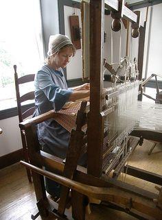At the Loom, Shaker Village, Pleasant Hill, Harrodsburg, Kentucky | Flickr - Photo Sharing!