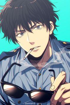 Cre on pic Manga Anime, Haikyuu Manga, Manga Boy, Anime Art, Conan Comics, Detektif Conan, Cute Anime Character, Character Art, Character Design