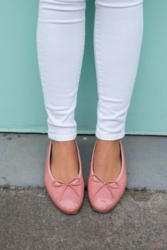 Pink Chanel Flats - Gal Meets Glam