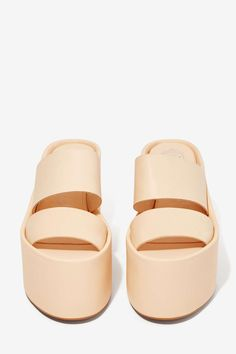 Jeffrey Campbell Carine Leather Platform