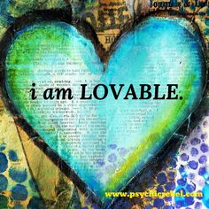 Positive affirmation 30 day challenge! #1 i am LOVABLE! Know that you are worth loving!