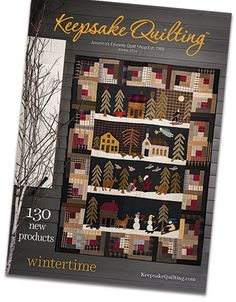 Keepsake Quilting Winter 2014 Catalog