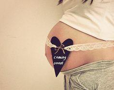 Maternity Lace Belt, Maternity Heart Sash - Shabby Chic Chalkboard Wooden Heart, Maternity Sash, Maternity Photo Prop, Baby Shower Accessory...