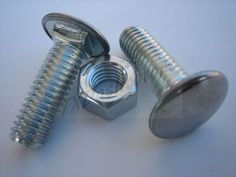 "7//16/""-14 X 7//8/"" Ford bumper bolts stainless steel capped nuts include Qty 8"