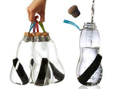 Eau Good Water Bottle from Kath Younger on OpenSky