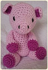 Ravelry: Bluebell Pig pattern by Lucy Neal