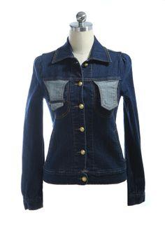 long sleeve jeans jacket