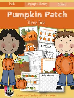 Pumpkin Patch Theme Pack (from Learning & Teaching with Preschoolers)