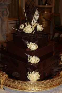 The chocolate biscuit cake is made from a Royal Family recipe and was specially requested by Prince William.