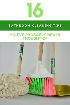 Don't you just hate when it is time to clean your bathroom again? Here are 16 bathroom cleaning tips that will make cleaning a breeze.