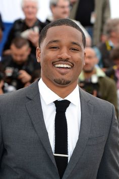 Ryan Coogler was born on May 1986 in Oakland, California, USA as Ryan Kyle Coogler. He is a director and writer, known for Creed Fruitvale Station and Black Panther Ryan Coogler, Black Panther 2018, Civil Rights Leaders, Black Actors, Marvel Films, Black And White Pictures, Great Movies, Feature Film