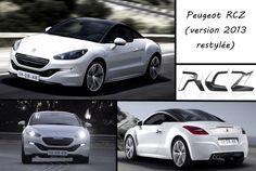 Le RCZ, coupé sportif de la gamme Peugeot, se refait une beauté pour adopter le nouveau style de la marque avec par exemple la calandre diminuée ainsi que le logo sur le capot ...