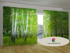 Fotogardine Vorhang Gardine In Luxus Fotodruck 3D. Maßanfertigung.