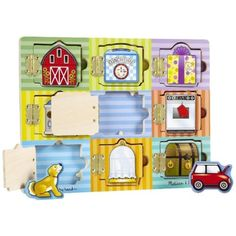 Magnetic-Hide-Seek-Board-Special-Needs-Autism-Occupational-Speech-Therapy