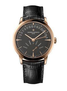 La montre Patrimony 81180 de Vacheron Constantin http://www.vogue.fr/vogue-hommes/montres/diaporama/montre-patrimony-vacheron-constantin-cadran-ardoise-watches-wonders-2014/20718#!la-montre-patrimony-81180-de-vacheron-constantin