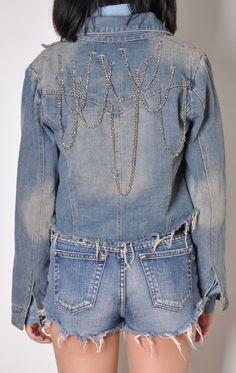 chain jacket #DIY