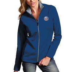 New York Islanders Antigua Women's Leader Full Zip Jacket – Royal Blue - $56.99