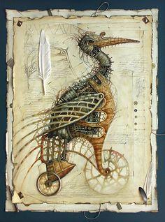 Drawing by Vladimir Gvozdev