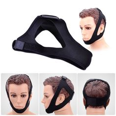 Triangle Anti Snore Chin Strap Mouth Guard Stop Bruxism