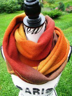 knit scarf rainbow , handmade shawl , Kauni knitted stylish triangular scarf shawl of high quality male female scarf scarf unisex scarf boho by PonchoShawlScarves on Etsy