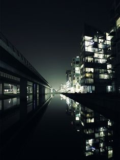 Apartments and night