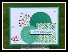 For The Love Of Stamping In Color Club - June 2020 - Featuring Just Jade Color Club, Stamping, Jade, Card Making, Happy Birthday, Paper Crafts, Create, Blog, How To Make