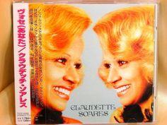 CD/Japan- CLAUDETTE SOARES Voce w/OBI RARE EARLY 1997 TOCP-50285 OOP #LatinPop