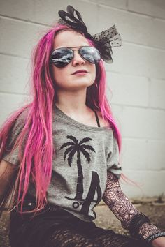 pink hair, pink hair don't care, kids who rock, punk rock fashion, browntowngirls, a styled mess, mermaid hair, mermaid