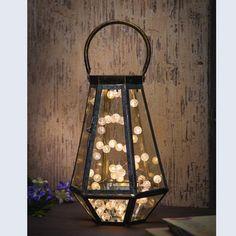 Rustic Terrarium Lantern
